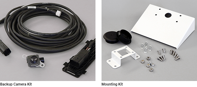 Backup Cameras and Mounting Kits for Ford, GM, and RAM